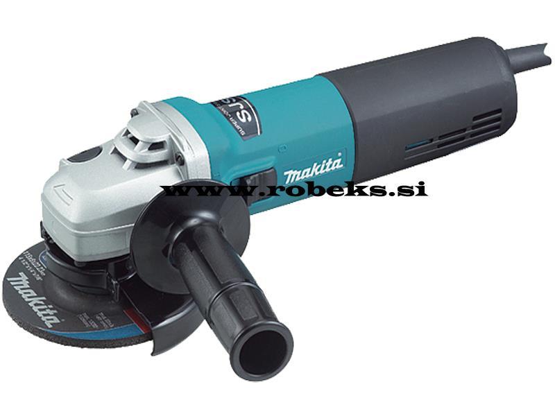 Kotna brusilka Makita 9564H, 1.100W, 115mm