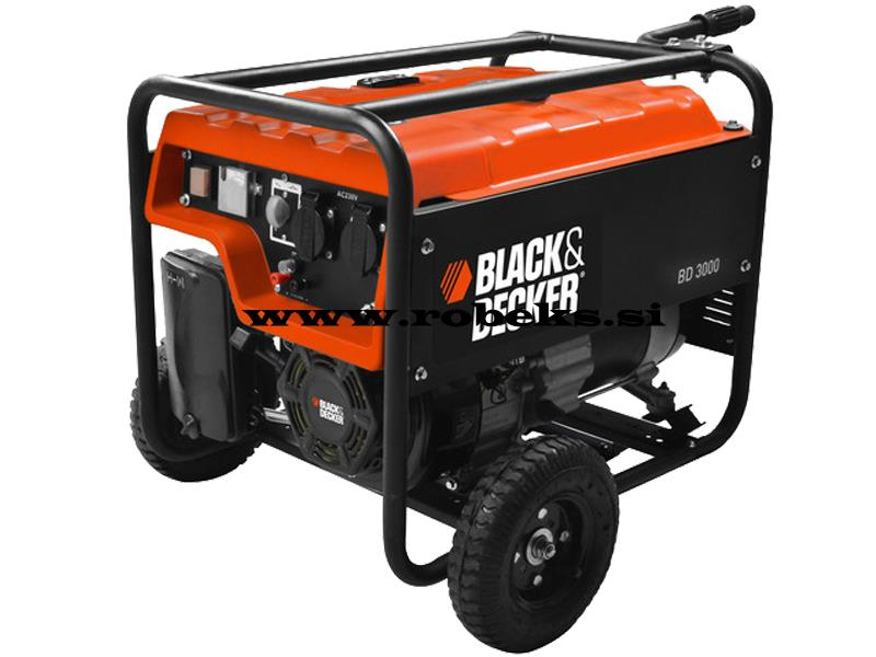 Agregat Black&Decker BD3000, Moč 3000W